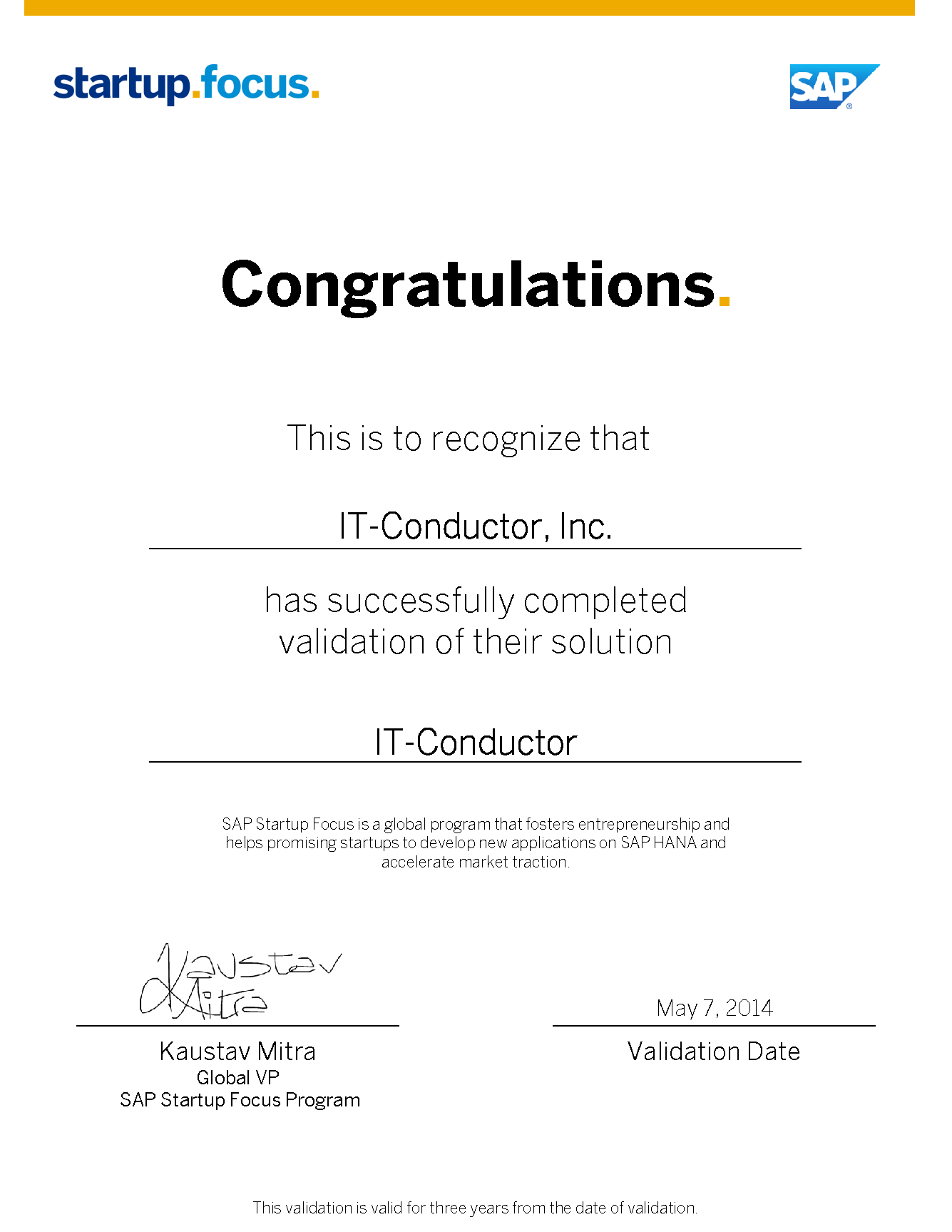 SAP_SFP_Validation-Certificate-IT-ConductorInc-May-7-2014