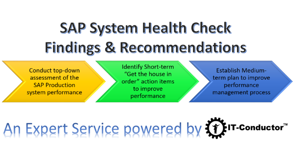 SAP Basis System Health Check powered by IT-Conductor