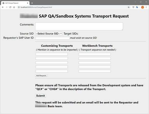 IT-Conductor SAP Transport Automation