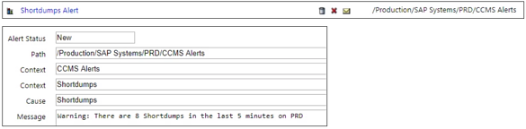 IT-Conductor SAP Monitoring ABAP Dumps and Frequency Alert
