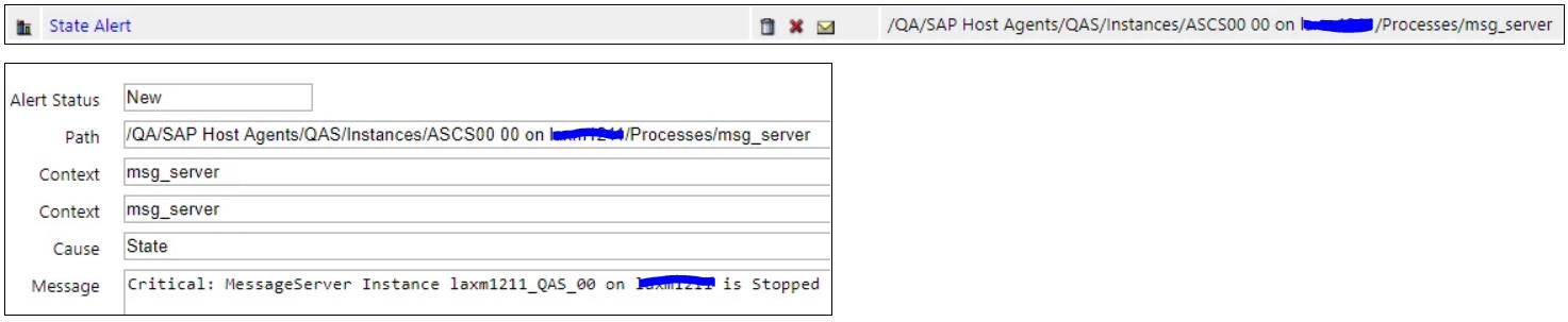 IT-Conductor SAP Monitoring SAP Service Process Status