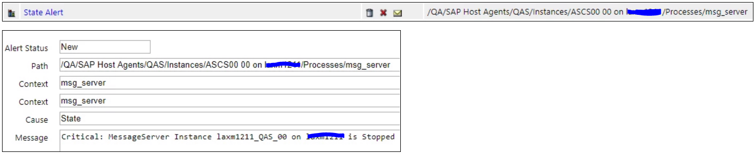 IT-Conductor SAP Monitoring SAP Service Process Status