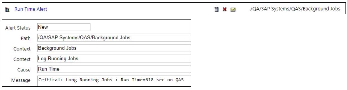 IT-Conductor SAP Monitoring Batch Job Alerting