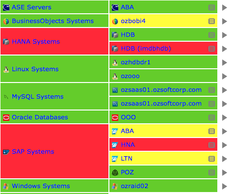 Service Grid - SAP Monitoring Ecossytem by IT-Conductor