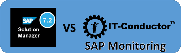 SAP Solution Manager vs IT-Conductor for SAP Monitoring