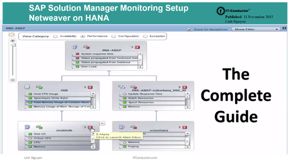 Download the Complete Guide to SAP Solution Manager Monitoring Setup for Netweaver on HANA