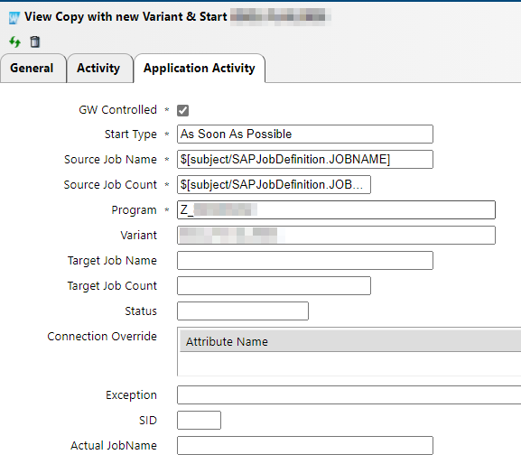 View Copy with New Variant in IT-Conductor