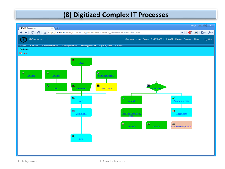Digitized Complex IT Processes