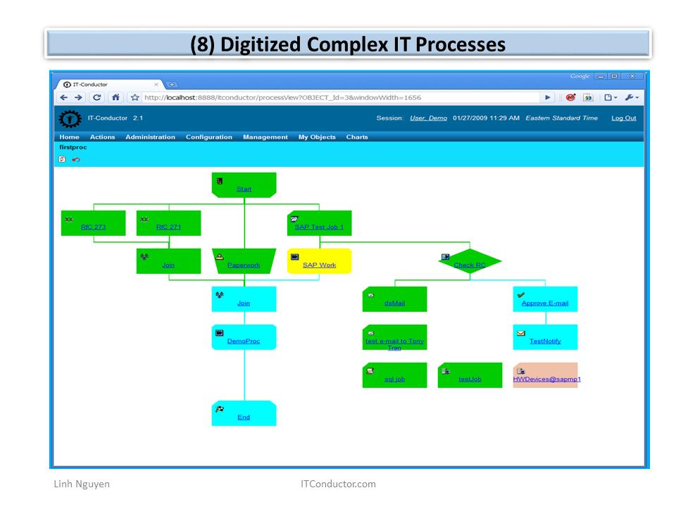 Digitized Complex IT Processes