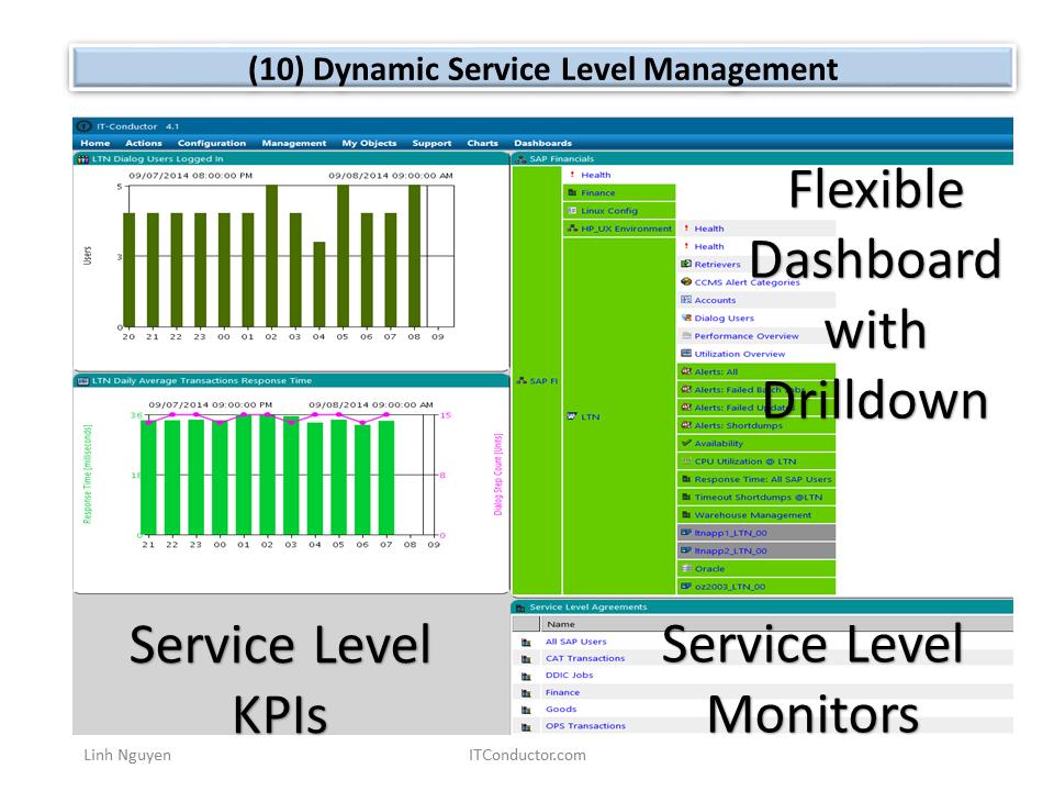 Dynamic Service Level Management