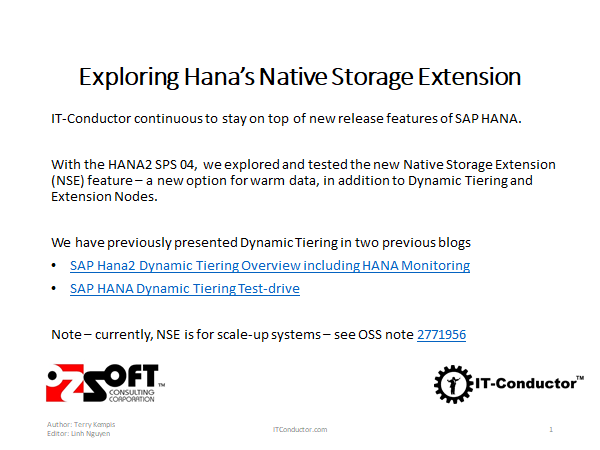 Tips for HANA Monitoring of HA/DR with Virtual Host Failover